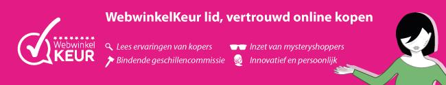 123Fotolijsten is aangesloten bij Stichting WebwinkelKeur