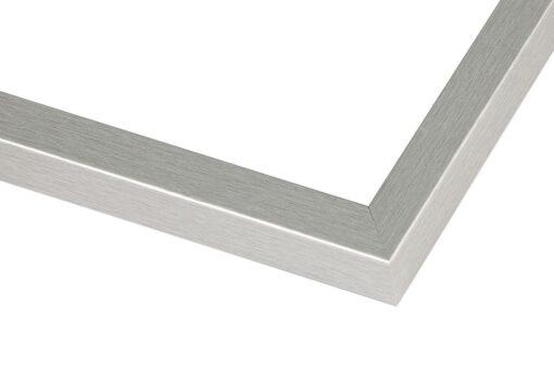 Wissellijst hout F112 zilver geborsteld