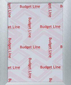 Wissellijst aluminium breed Budget Line mat zilver