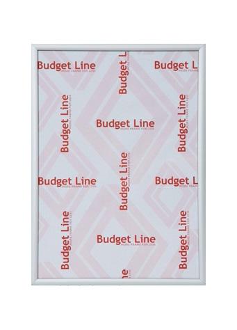 Wissellijst aluminium Budget Line mat zilver
