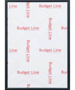 Wissellijst aluminium Budget Line mat zwart