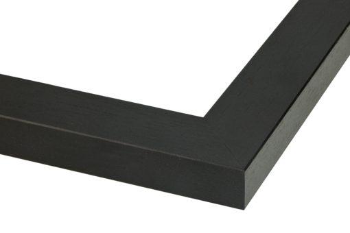 Wissellijst hout F2602 Zwart ingewassen