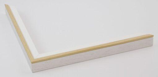 Wissellijst hout F2024 Wit-Blank