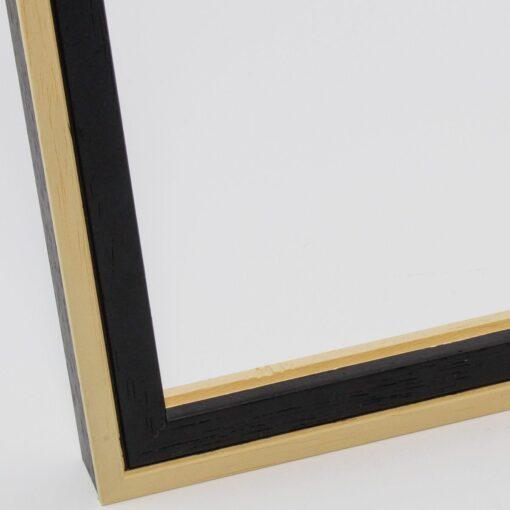 Wissellijst hout F2024 Zwart-blank