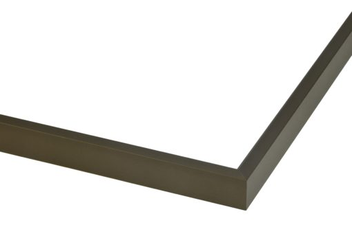Wissellijst aluminium Mat donker brons