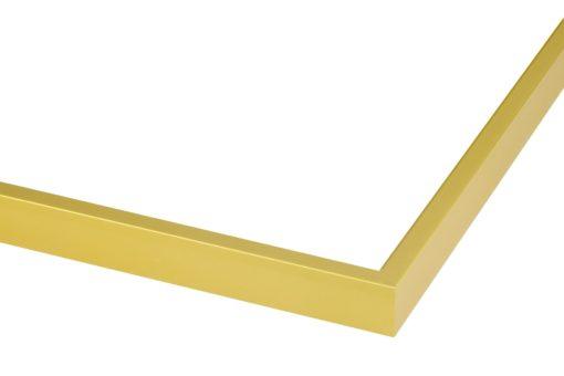 Wissellijst aluminium Mat goud