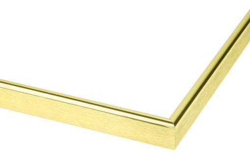 Wissellijst aluminium F160 Hoogglans goud