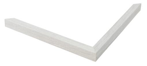 Wissellijst hout F124 Wit eiken fineer