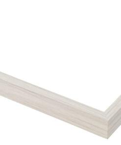 Wissellijst aluminium F109 Wit eik