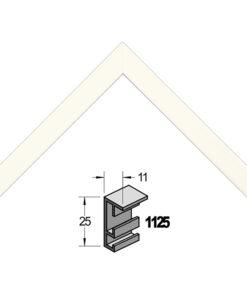 Barth wissellijst aluminium 1125NW Natuurwit
