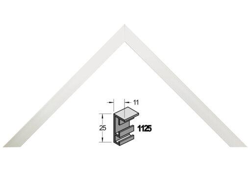 Barth wissellijst aluminium 1125SA Satine