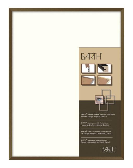 Barth wissellijst aluminium 916BR Bruin