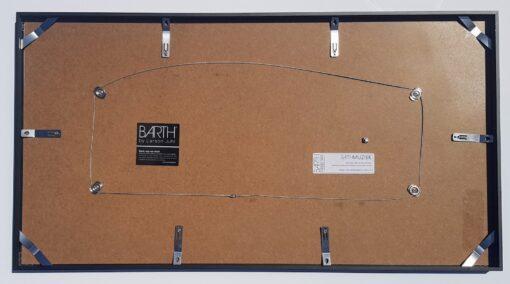 BARTHMUZIEK PRO Stereo LP / vinyl plaat + hoes wissellijst - achterkant