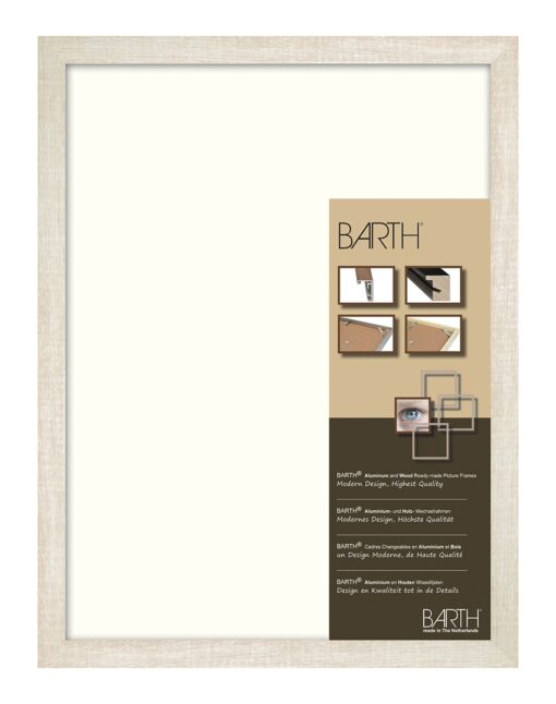 Barth wissellijst aluminium 1828BW Barthwood Eiken Wit gewassen