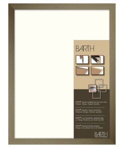 Barth wissellijst aluminium 1828GMB Geschuurd middel brons
