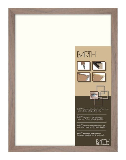 Barth wissellijst aluminium 1828WA Walnoot
