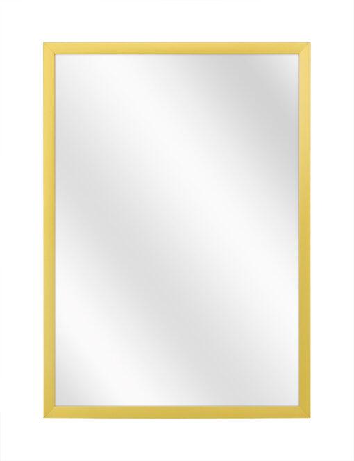 Aluminium spiegel F109 Mat goud - 10mm
