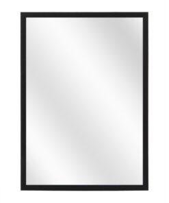 Aluminium spiegel F109 Mat zwart - 10mm