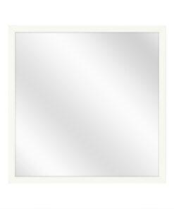 Aluminium spiegel F109 Wit - 10mm