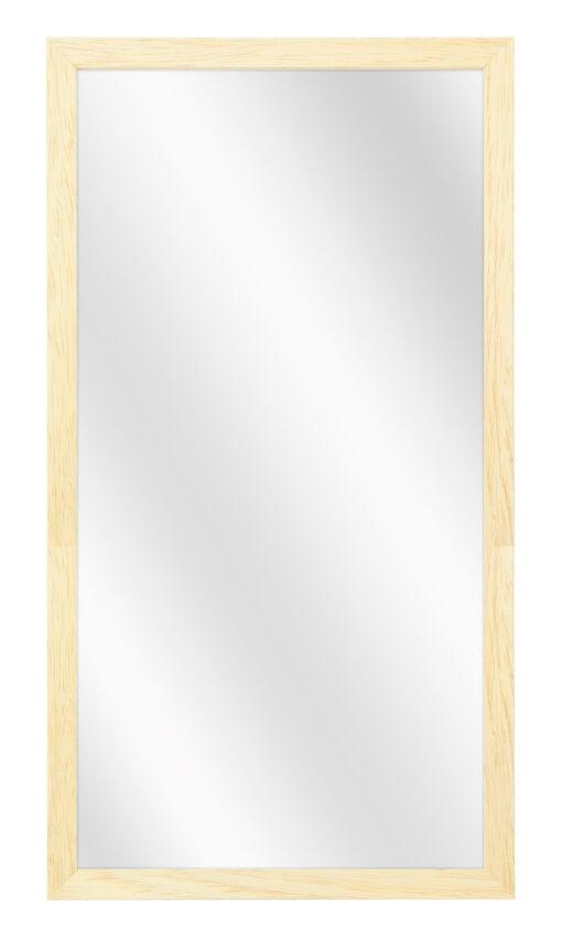 Houten spiegel F100 Blank ongelakt - 15mm