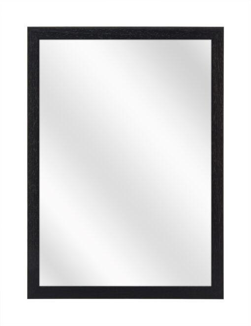 Houten spiegel F102 Zwart - 15mm