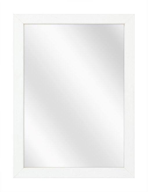 Houten spiegel F204 Wit - 20mm