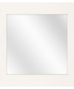 Houten spiegel F2601 Wit - 39mm