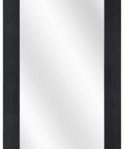 Houten spiegel F2602 Zwart - 39mm