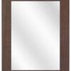 Houten spiegel F2607 Koloniaal - 39mm