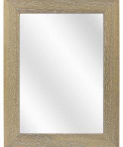 Houten spiegel F2608 Vergrijsd - 39mm