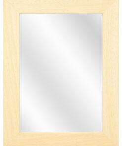 Houten spiegel F260 Blank ongelakt - 39mm