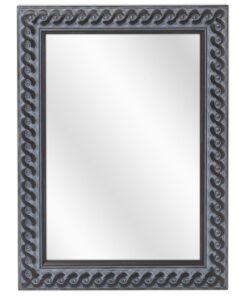 Houten spiegel F2702 Oud Zwart - 30mm