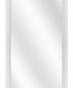 Aluminium spiegel F62 Zilver geschuurd - 23mm