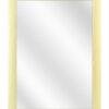 Aluminium spiegel F62 Goud geschuurd - 23mm