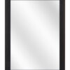 Aluminium spiegel F62 Zwart geschuurd - 23mm