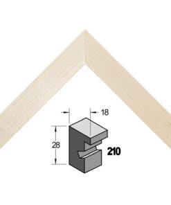 Barth wissellijst hout 210-444 Esdoorn