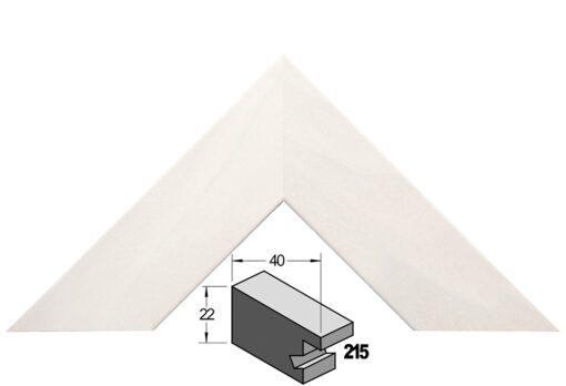 Barth wissellijst hout 215-377 Wit populier
