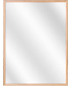 Aluminium spiegel F109 Beuken fineer - 10mm
