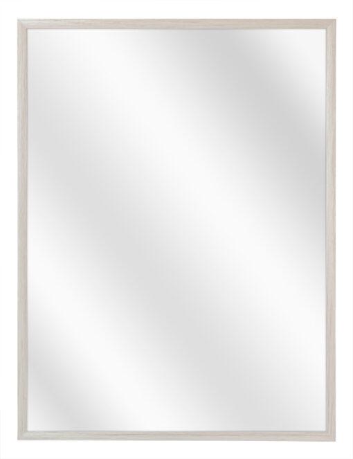 Aluminium spiegel F109 Wit eik fineer - 10mm