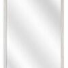 Houten spiegel F124 Wit eiken - 15 mm