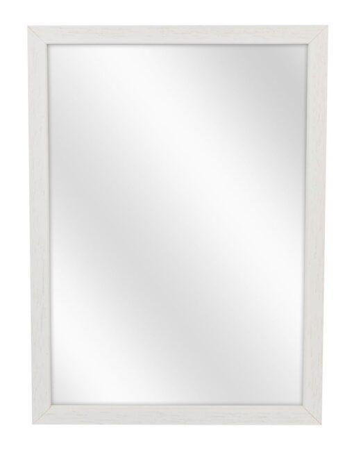 Houten spiegel F104 Wit - 15mm