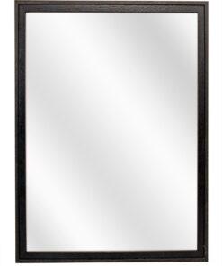 Houten spiegel F2024 Zwart-Bruin - 20mm