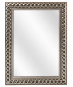 Houten spiegel F2711 Zilver - 30mm