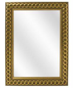 Houten spiegel F2713 Goud - 30mm