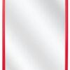 Kunststof spiegel F222 Rood - 25mm