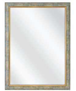 Spiegel F46 Zilver / Goud - 50mm
