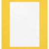 Passe-partout geel