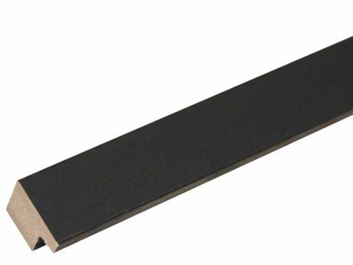 Staal Houten fotolijst in zwart