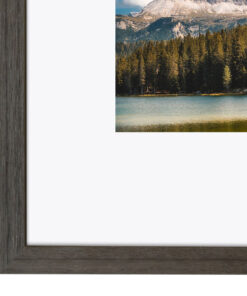 Wissellijst hout F219 Antraciet eiken fineer