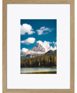 Wissellijst hout F220 Natuur eiken fineer